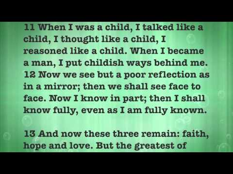 Love Never Fails 1 Corinthians 13