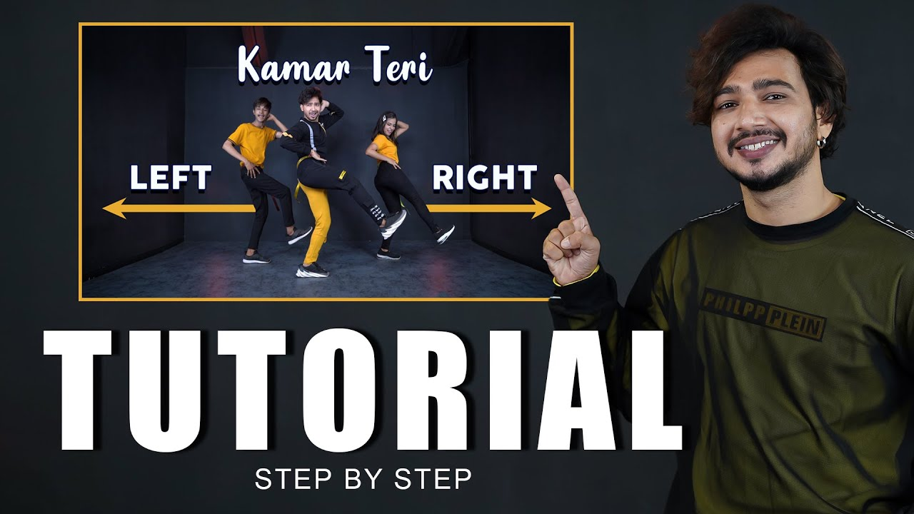 Kamar Teri Left Right Dance Tutorial | Step By Step | Vicky Patel Choreography