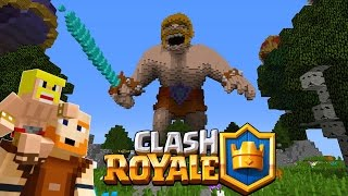 What if Clash royale was in Minecraft? Animation. ( READ Description)