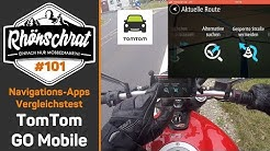 TomTom GO Mobile | Motorrad Navigations-Apps Vergleichstest 7/6 | #101