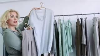 Η Μαρία Σαββίδου μάς ντύνει για την πρώτη μας συνέντευξη