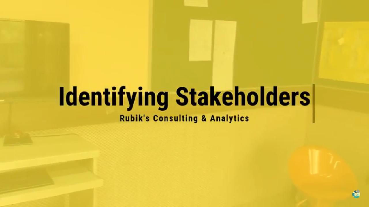 Identifying Key Stakeholders