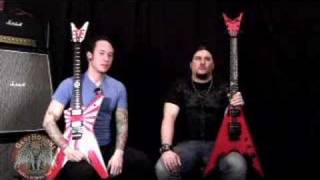 Trivium Matt Heafy - Corey Beaulieu Interview DOA 08 - Part 1