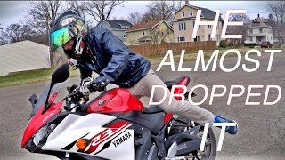 Noobs Ride Motorcycle F๐r The First Time