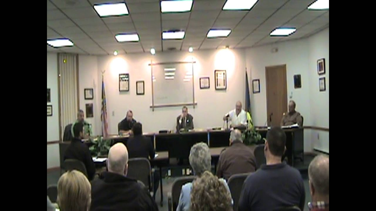 Rouses Point Village Board Meeting  12-7-15