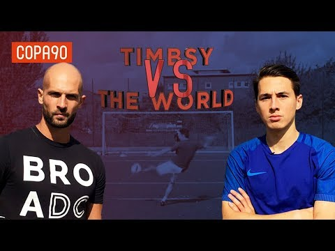Amateur Vs Professional Freestyler Challenge | Timbsy Vs The World