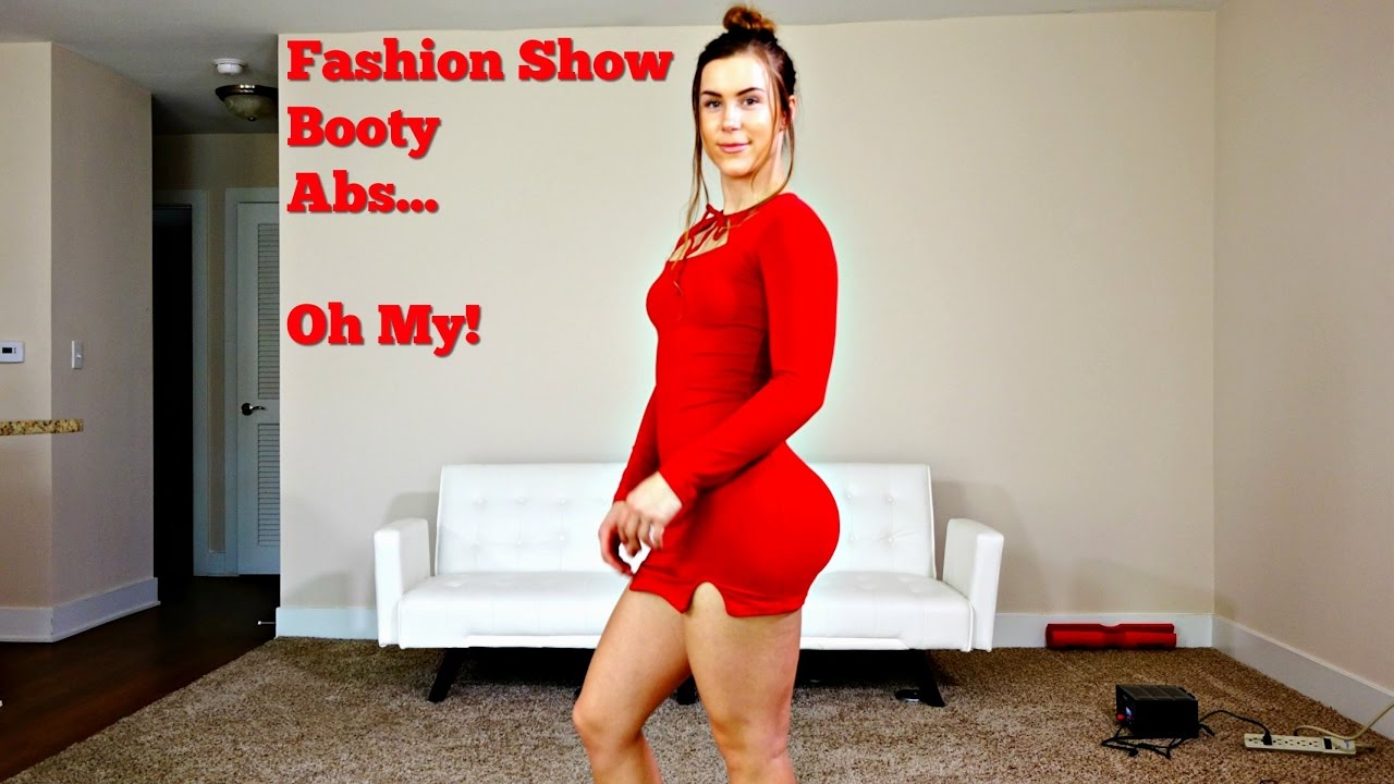 booty, legs, abs + style hual fashion show - youtube