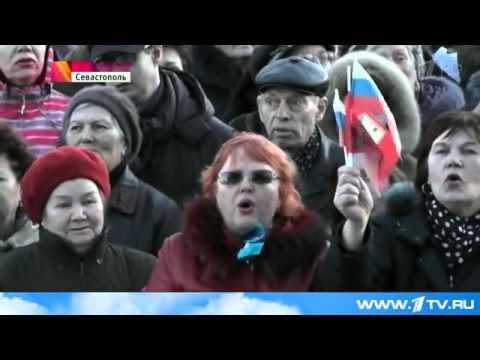 Жители Крыма и Севастополя год назад приняли историческое решение о воссоединении с Россией.