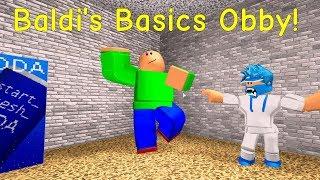 Reupload - Baldi's Basics Obby! (Roblox Old Map)