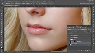 Урок Как профессионально ретушировать фотографию в Фотошоп Уроки фотошопа