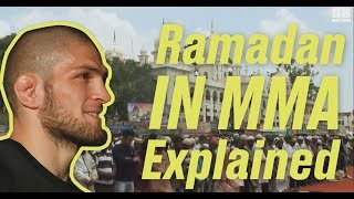 Ramadan in MMA Explained: Why doesn't Khabib fight during the holy month?