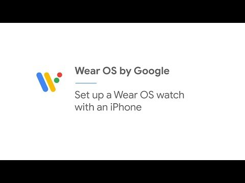 Set Up A Wear OS Watch With An IPhone | Wear OS By Google