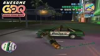 Grand Theft Auto: Vice City by KZ_FREW in 57:39 - AGDQ2019