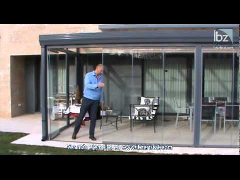 Cortinas de cristal youtube for Cortina cristal terraza