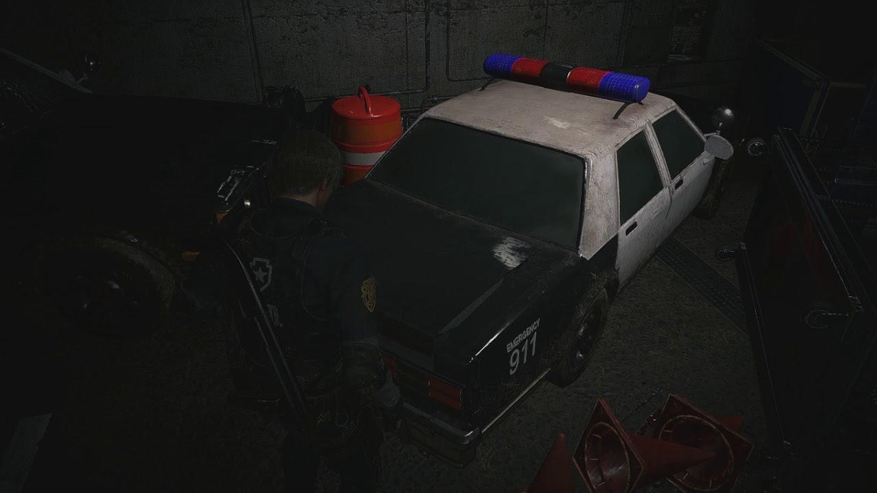 Using Well Worn Key Resident Evil 2 Remake
