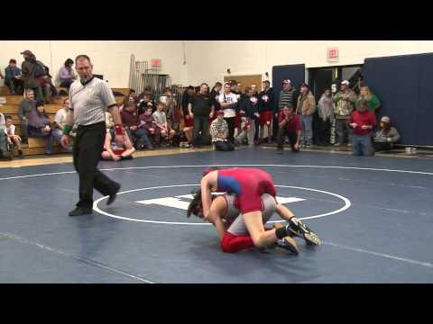 120lbs - Robert Sutter - Mt. Greylock vs. Brennan Howard - Mill River - 12-27-14