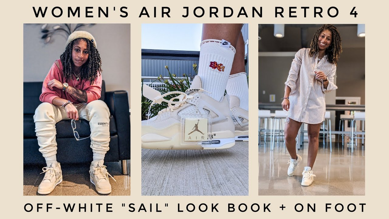 outfits with white jordans