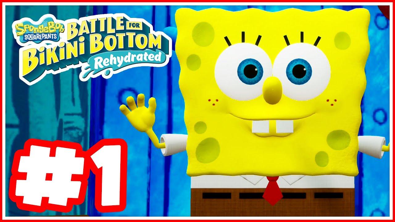 SpongeBob Squarepants: Battle for Bikini Bottom Rehydrated - Part 1 - Shiny Things Everywhere!