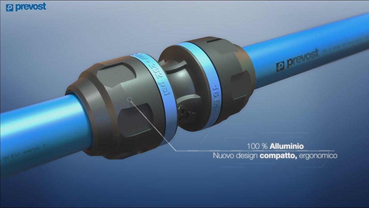 Impianti Aria Compressa Prevost Piping System 100 Alluminio It