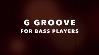 Groove BASS Backing Track (G Dorian)