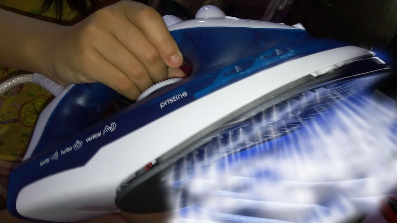 How To Use A Steam Iron Properly Without Water Leakage Amp Clean It Using Self Clean Method YouTube