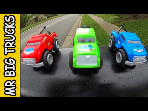 MAX MINI TOW TRUCK OFF-ROAD PLAYSET FOR KIDS: MrBigTrucks101
