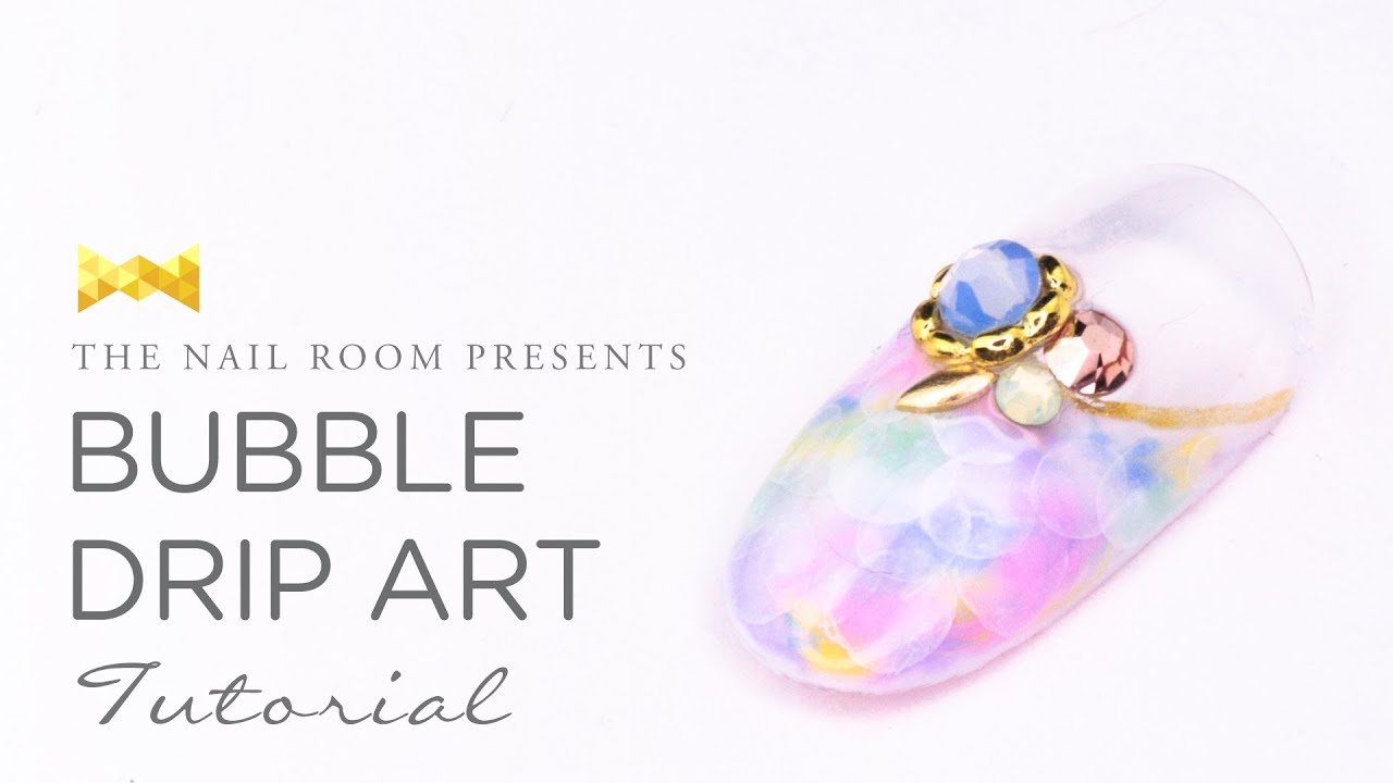Bubble Drip Art Nail Tutorial - (www.NEIRU.me) Japanese Nail Art ...