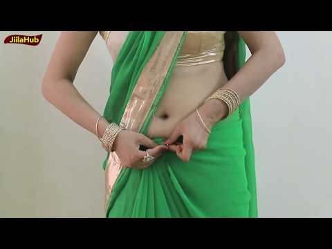Watch If you Want to Learn Indian Saree Draping : How to wear in Simplest way