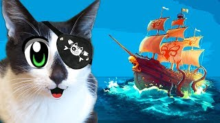 CHALLENGE FIND THE TREASURE! CAT KID and CAT MURKA and GHOST SHIP! MYSTERY CHALLENGE