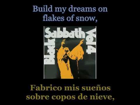 Black Sabbath - Snowblind - 06 - Lyrics / Subtitulos en español (Nwobhm) Traducida
