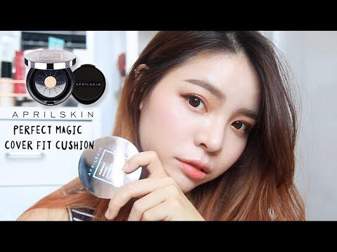 APRILSKIN Perfect Magic Cover Fit Cushion Review (INDO SUBS) | Erna Limdaugh