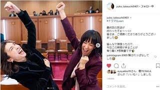 「氷見与田コンビ最高」 竹内結子&水川あさみ、「スキャンダル弁護士QU...