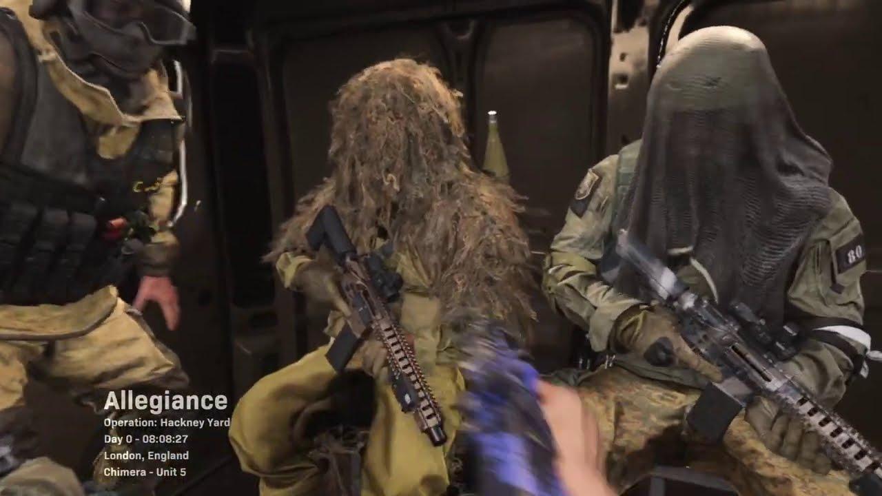 CoD: Modern Warfare MP7 Run and Gun - Hackney Yard - PS4 PRO 4K to 1080p