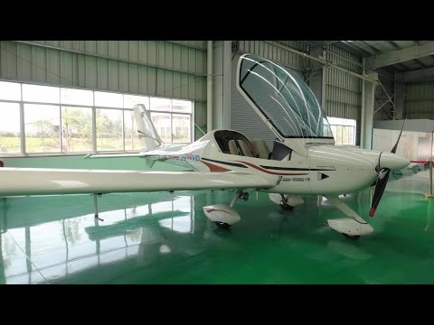 A Visit to ultralight plane manufacturing Factory