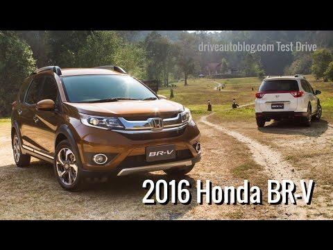 [Test Drive] Honda BR-V 2016 : ดีไซน์เด่น ราคาได้ ประหยัดน้ำมัน ให้สามผ่าน!