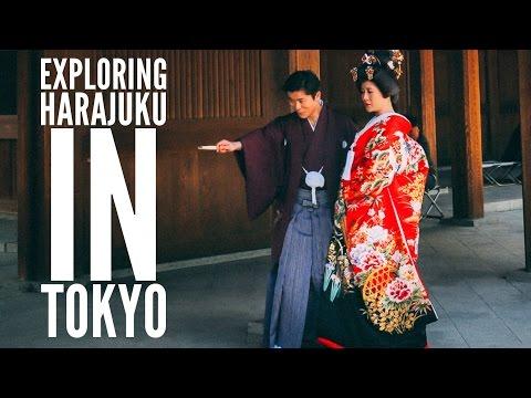 HARAJUKU, MEIJI SHRINE AND YOYOGI PARK'S CHERRY BLOSSOMS... IN TOKYO, JAPAN || Tokyo Travel Vlog 2