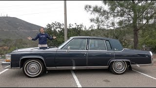 The 1989 Cadillac Brougham Is the Best Cadillac From 30 Years Ago