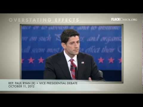 Overstating Effects: Ryan on 'Taxpayer Funding of Abortion'