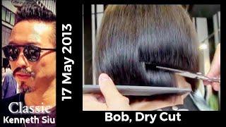 Kenneth Siu Haircut 18- Bob, Dry Cut