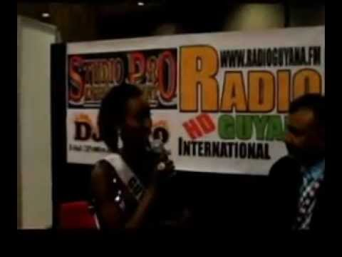 Radio Guyana International's Interview with Contes