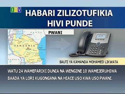 Watu 24 wamefariki na wengine 10 kujeruhiwa mkoani Pwani