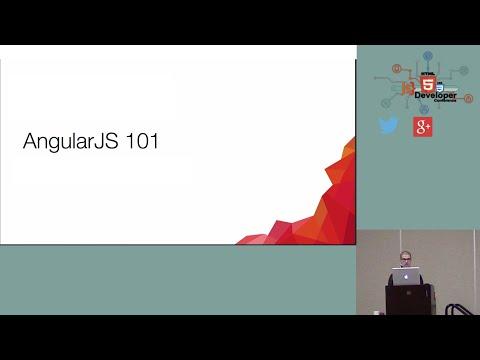 HTML5DevConf: Sean Cannon, Presence: AngularJS 101