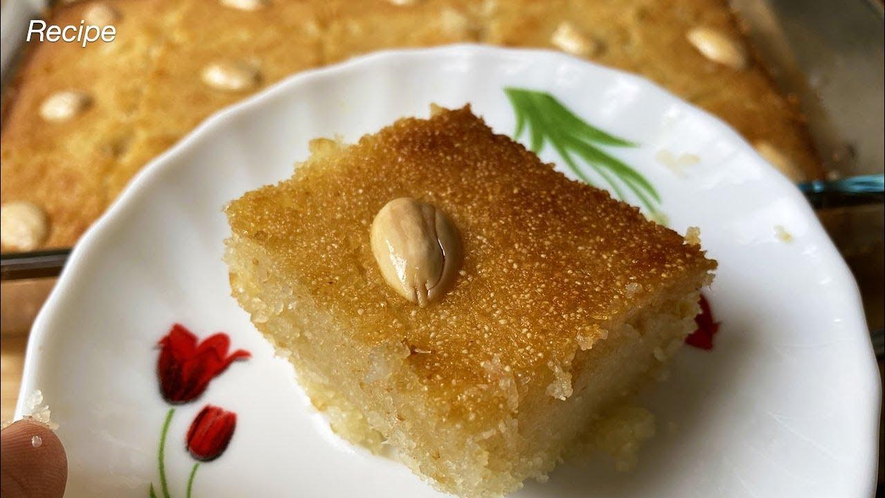Basbousa recipe in malayalam