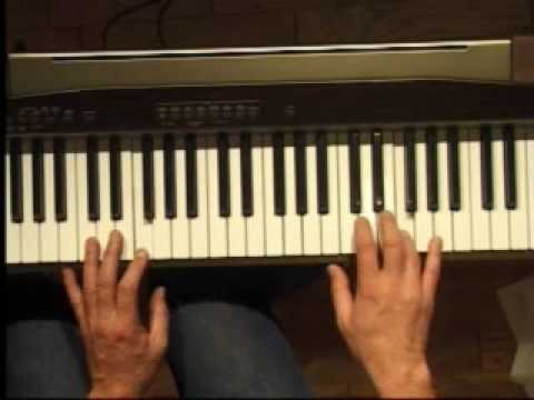 Piano Lesson How To Play The F Major Scale Right Hand Youtube