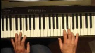 Piano Lesson - How to Play the F major scale (right hand)