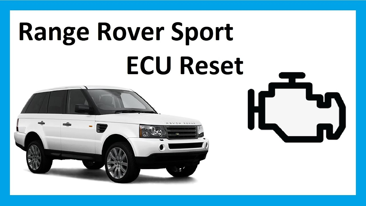 How to do an ECU reset on Range Rover Sport 2005  YouTube
