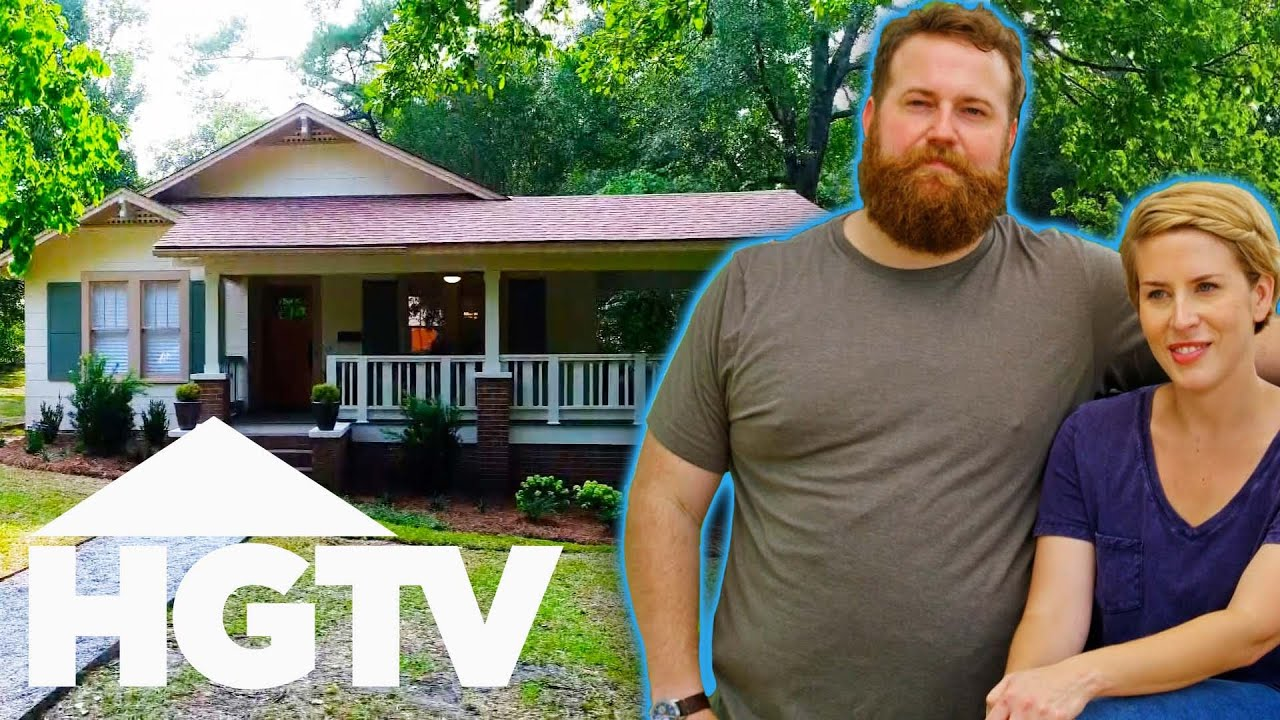 Ben & Erin Restore A Craftsman Cottage's Classic Architectural Features   Home Town