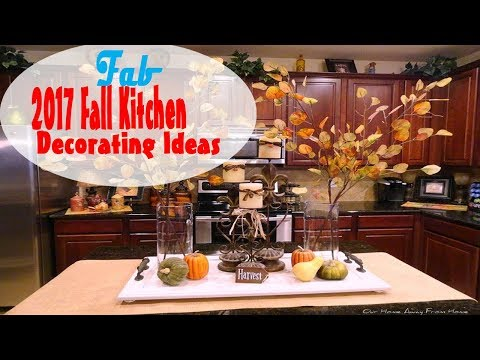 2017 Fall Kitchen Decorating Ideas