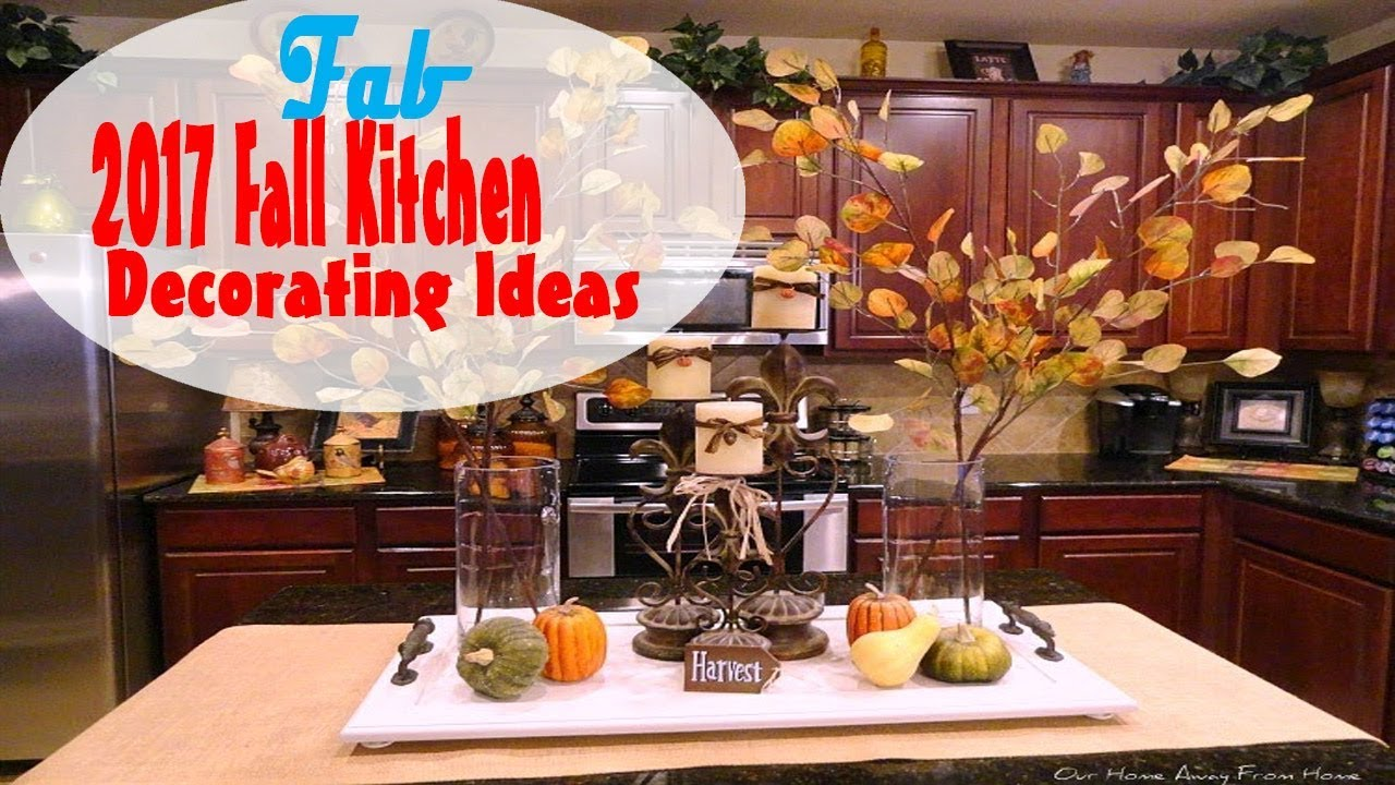 Nice Fall Kitchen Decorating Ideas Part - 10: 2017 Fall Kitchen Decorating Ideas