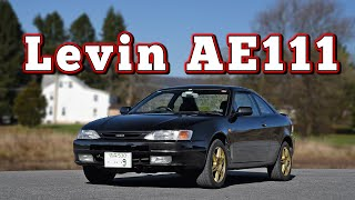 homepage tile video photo for 1995 Toyota Corolla Levin AE111: Regular Car Reviews